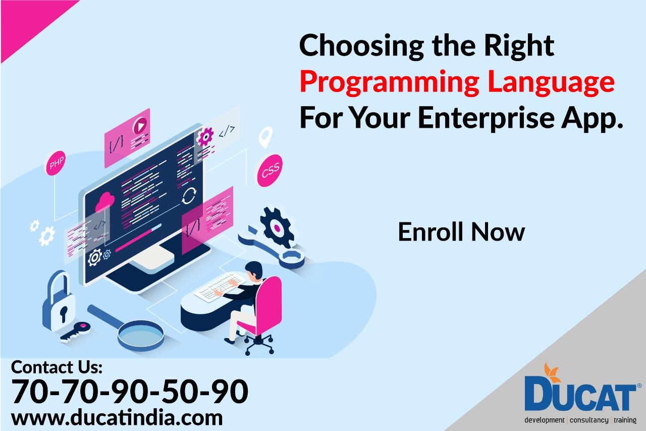 Choosing The Right Programming Language For Your Enterprise App