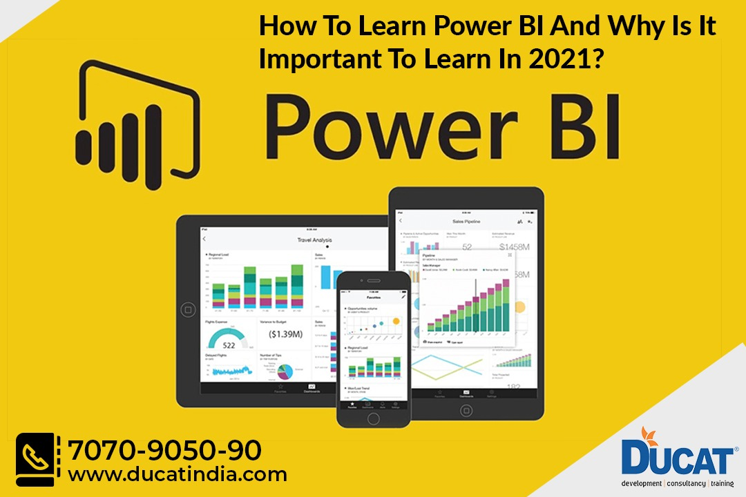 How To Learn Power BI And Why Is It Important To Learn In 2021?