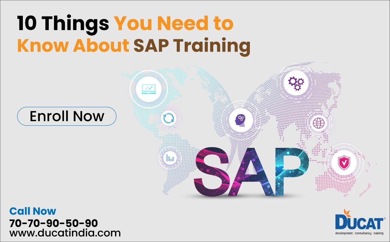10 Things You Need To Know About SAP Training
